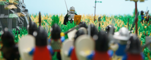 Jakon Inspires the Troops
