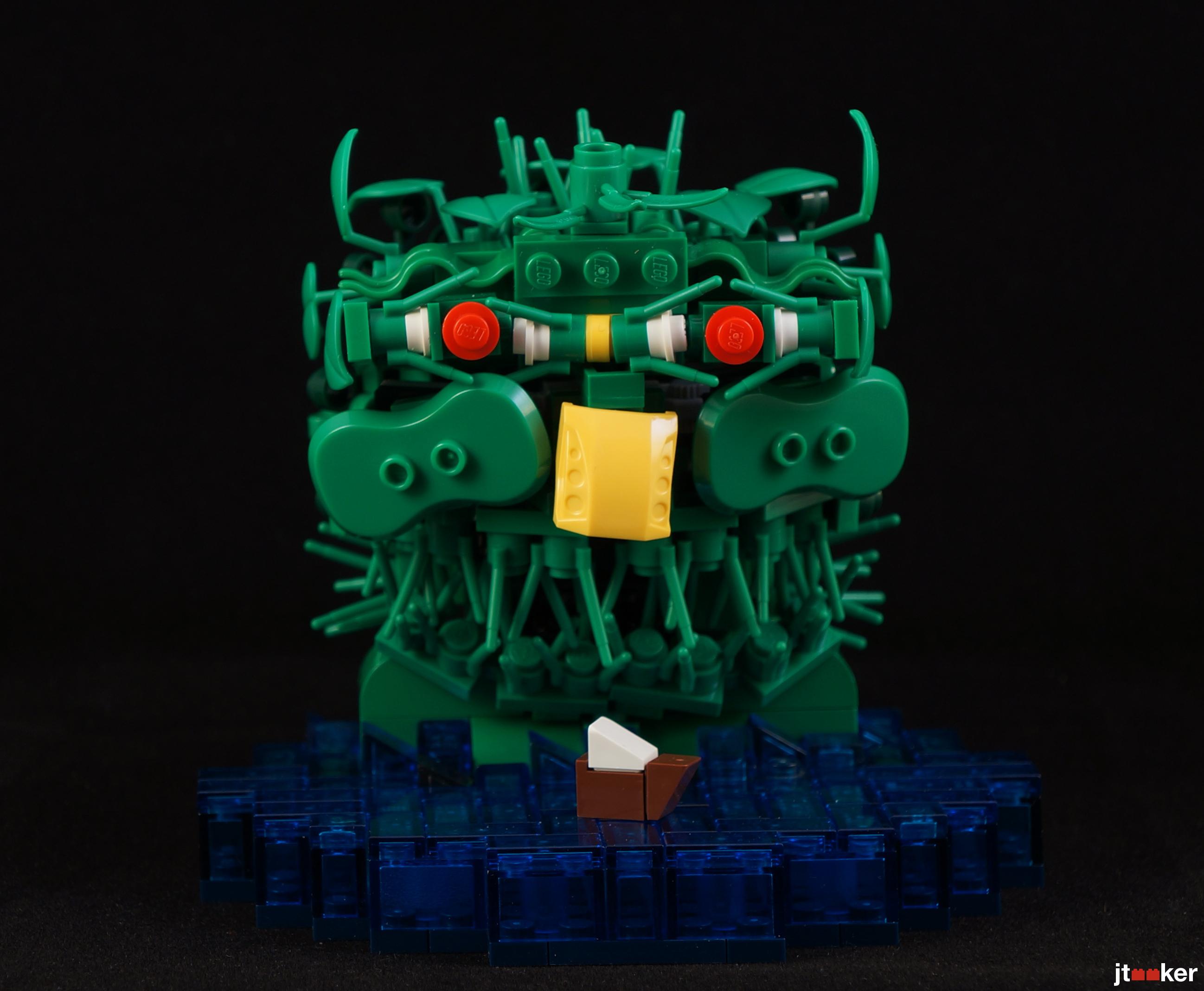 lego sea monster
